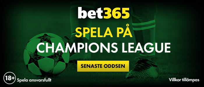 Speltips Bet365 Champions League