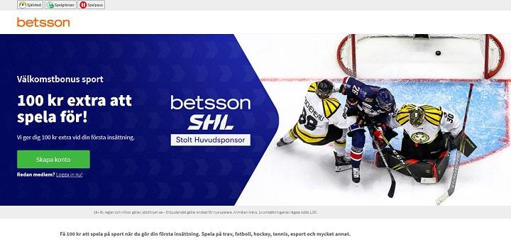 Betsson Odds Bonus