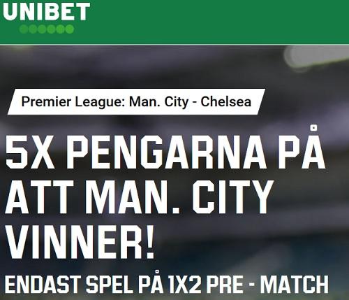 Speltips Man City - Chelsea 23 nov 2019
