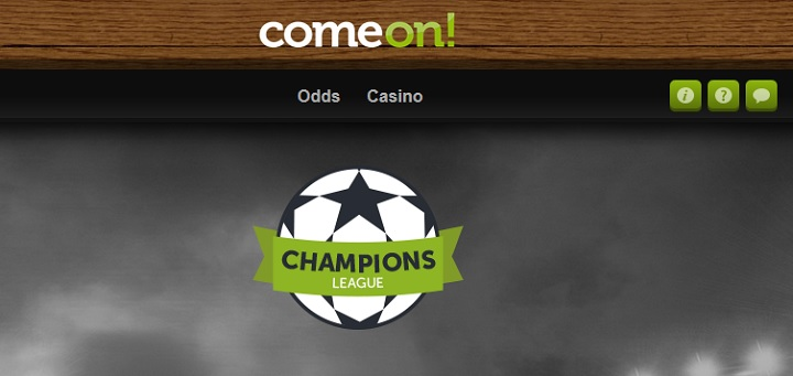 Vinn 50.000 kr på Champions League hos Comeon