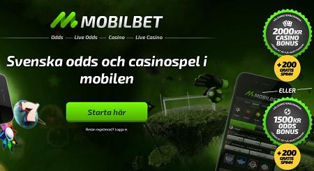 Mobilbet odds bonus