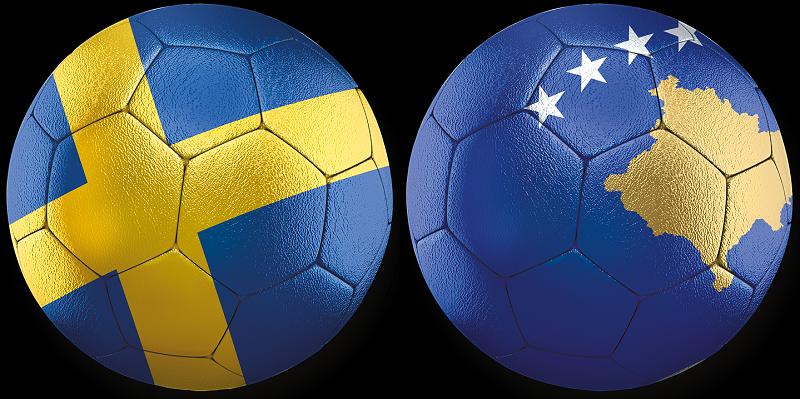 Sverige - Kosovo VM-kval 9 okt 2021