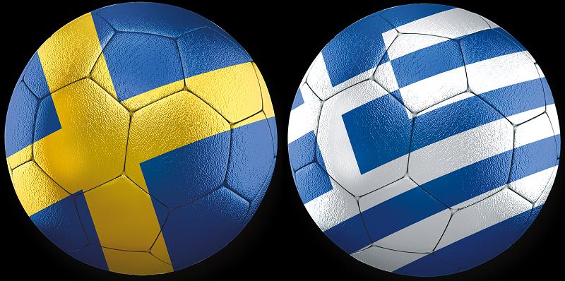 Sverige - Grekland VM-kval 12 oktober 2021