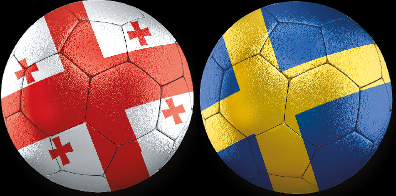 Georgien - Sverige VM-Kval 11 November 2021