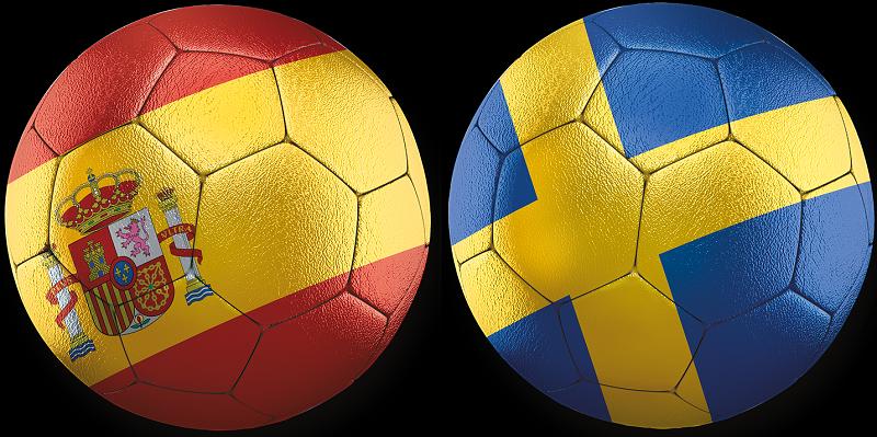 Spanien - Sverige VM-kval 14 november 2021