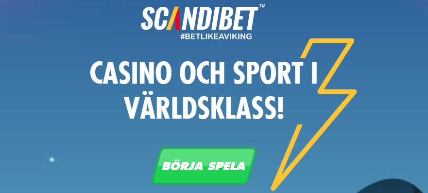 Scandibet med ny oddsbonus i Sverige