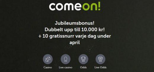 Casinobonus Comeon