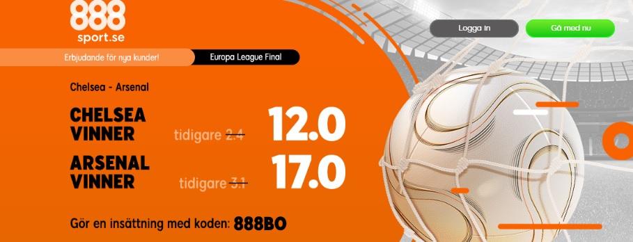 888sport Europa League final 2019 | Chelsea - Arsenal